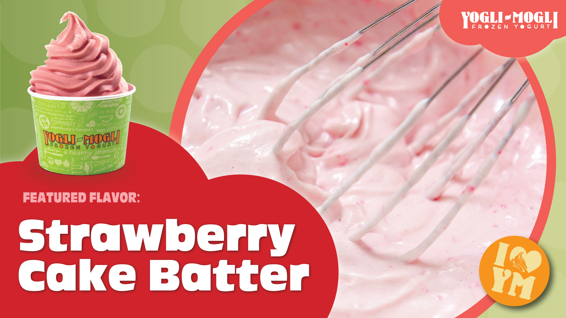 Strawberry Cake Batter